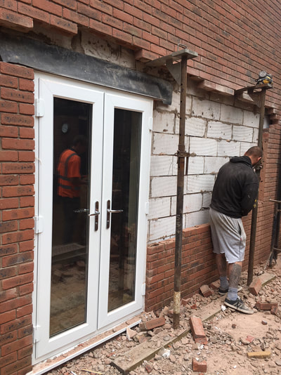 Bi-fold door Fitting process in Warrington