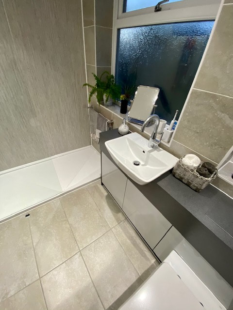 New Bathroom Complete With Walk in Shower in Leigh