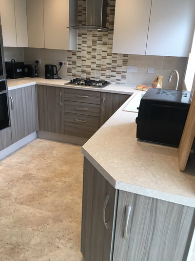 New Kitchen Installation in Warrington